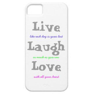 Leben Lachen-Liebe Hülle Fürs iPhone 5