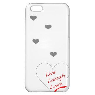Leben Lachen-Liebe iPhone5 iPhone 5C Hülle