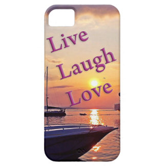 Leben Lachen-Liebe iPhone 5 Etuis