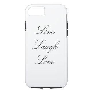 Leben Lachen-Liebe iPhone 7 Fall iPhone 7 Hülle