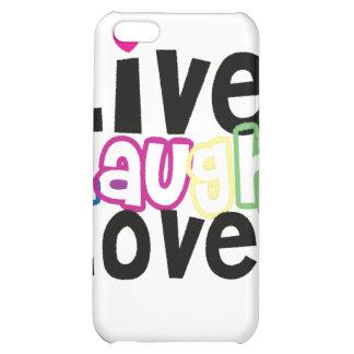 Leben Lachen-Liebe iPhone Fall