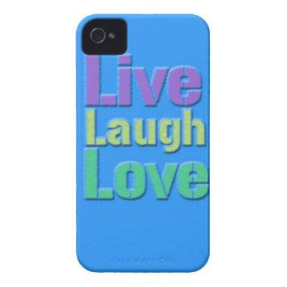 Leben Lachen-Liebe iPhone Fall iPhone 4 Hülle