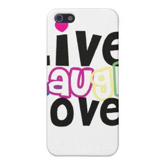 Leben Lachen-Liebe iPhone Fall iPhone 5 Cover