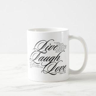 Leben Lachen-Liebe Kaffeetasse