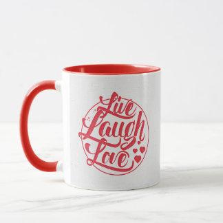Leben Lachen-Liebe Tasse