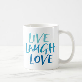 Leben Lachen-Liebe-Tasse Kaffeetasse