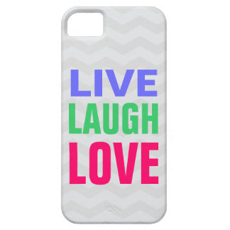 Leben Lachen-Liebe, Zickzack Hintergrund iPhone 5 Schutzhülle Fürs iPhone 5
