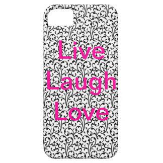 Leben Lachen-Liebetelefonkasten iPhone 5 Cover