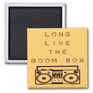 Leben lang der Boom Kasten-Magnet Quadratischer Magnet
