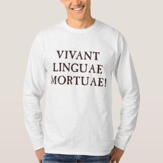 Leben lang tote Sprachen - Latein T-Shirt