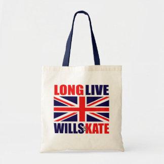 Leben lang Willen u Kate Einkaufstasche