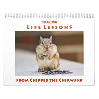 Leben-Lektionen vom Abklopfhammer, den der Kalender