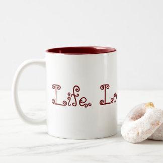 Leben. Liebe. Blogging. Zwei-Ton Tasse