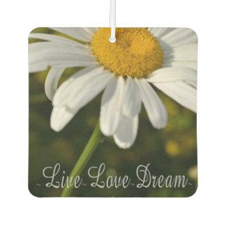 , Leben Liebe, Traumgänseblümchen Autolufterfrischer
