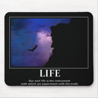 Leben mousepad Inspiration/Motivation