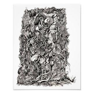 Leben ohne Haut, durch Brian Benson, Fotodruck