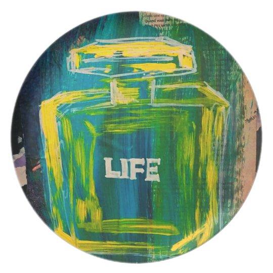 Leben-Platte Melaminteller