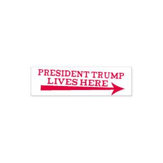 Leben Präsidenten-Donald Trump hier mit der Permastempel