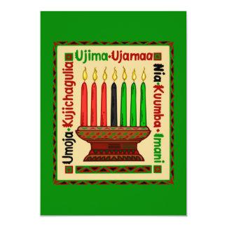 Leben-Prinzip-Kwanzaa-Feiertags-Party Einladungen