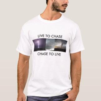 LEBEN SIE, UM ZU JAGEN, ZU JAGEN, UM ZU LEBEN T-Shirt