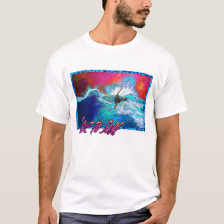 Leben Sie, um zu surfen T-Shirt
