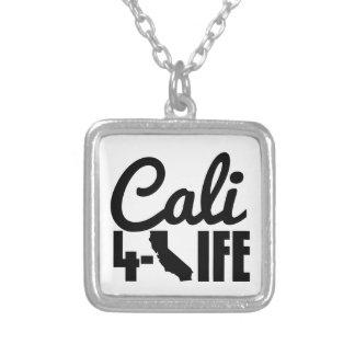 Leben Sie und die im LA Halskette Mit Quadratischem Anhänger