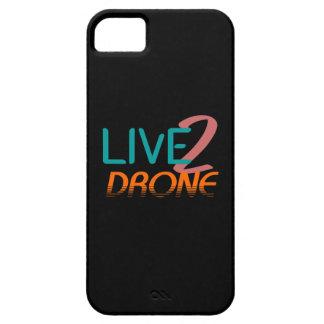 Leben Sie zum Drohne iPhone 5 Case