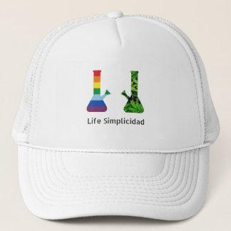 Leben Simplicidad Regenbogen Cheeba Bongs Truckerkappe