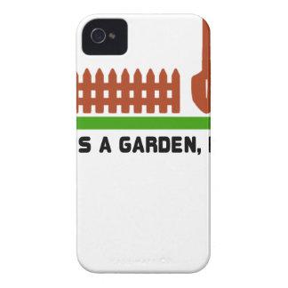 Leben- und Gartengrabung es iPhone 4 Hüllen
