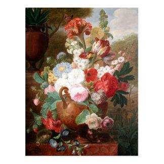 Leben Vans Spaendonck Flowers noch Postkarte