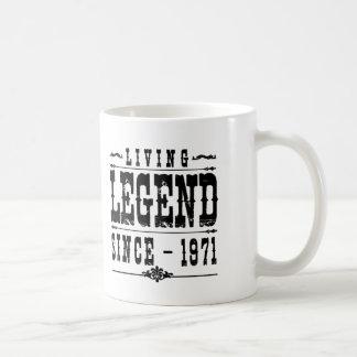 Lebende Legende seit 1971 Kaffeetasse