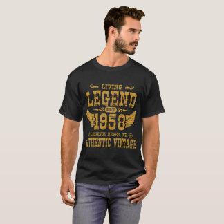 LEBENDE LEGENDEN-SEIT 1958 LEGENDE DIE NIE T-Shirt