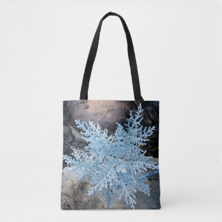 Lebende Schneeflocke Tasche