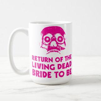 Lebende tote Braut, zum Kaffeetee Tasse