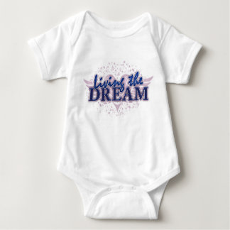 Lebendes Baby der Traum Baby Strampler
