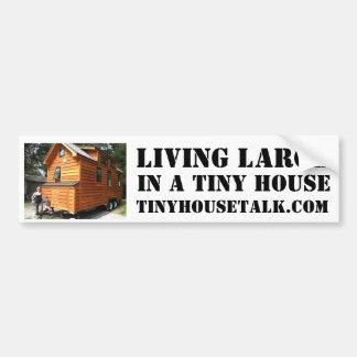 Lebendes großes in einem kleinen Haus Autoaufkleber