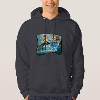 Lebendes legendäres Fernsehsweatshirt - fragen Sie Hoodie