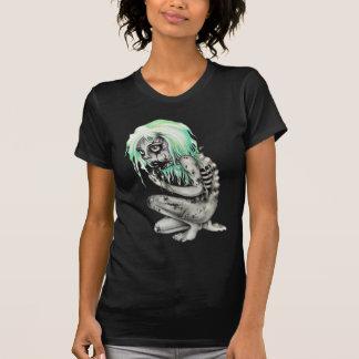 Lebendes totes Mädchen T-Shirts