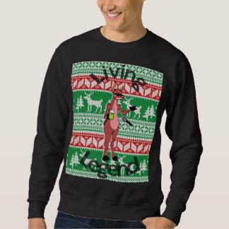 """""""Lebenlegenden-"""" hässliche Strickjacke Rudolphs Sweatshirt"""