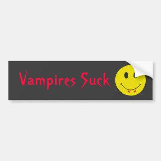 LEBENSLAUF, sind zum Kotzen lustige Vampires Autoaufkleber