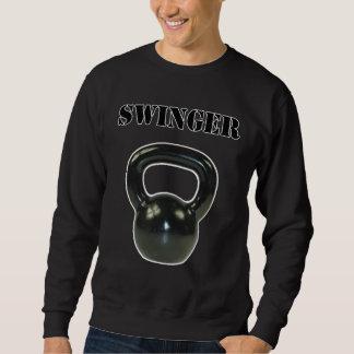 Lebenslustiger Typ Sweatshirt