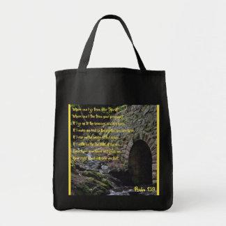 Lebensmittelgeschäft-Tasche des Psalm-139 Tragetasche