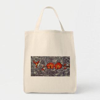 Lebensmittelgeschäft-Taschen-Tasche mit Kolibri Tragetasche