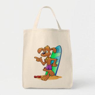 Lebensmittelgeschäfttaschen-Tasche des Surfbrettes Tragetasche