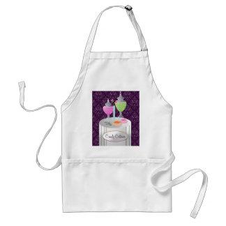 Lebensmittellieferant 311-Candy   lila Schürze