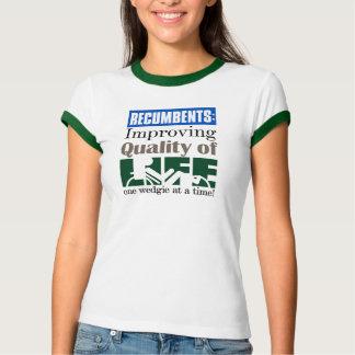 Lebensqualität eins Wedgie auf einmal verbessern T-Shirt