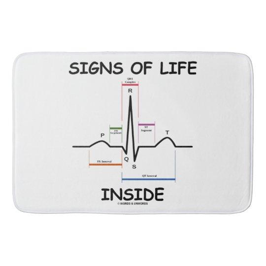 Lebenszeichen innerhalb EMT des medizinischen Badematten