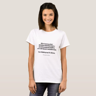 Lebenwahlen #nursingschoolfacts T-Shirt