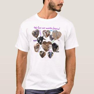 Lebewesencollage T-Shirt