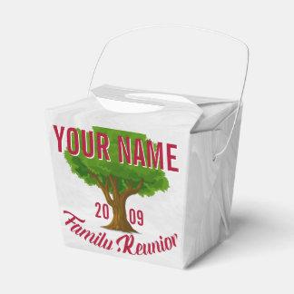 Lebhafter Baum-personalisiertes Geschenkschachteln